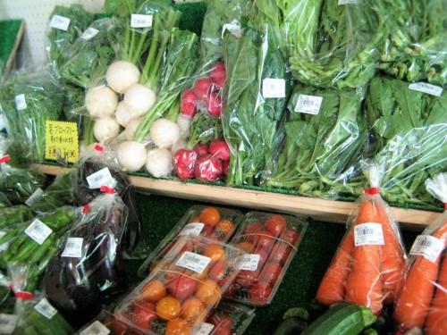 道の駅さらべつ野菜市